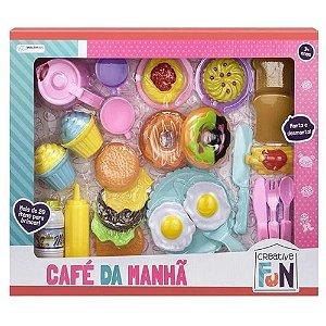 Kit Café da Manhã Brinquedo Creative Fun Multikids
