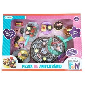 Creative Fun Festa de Aniversário Colorido Multikids BR641