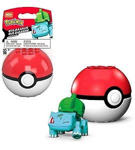 Bulbasaur - Pokebola - Pokémon - Mega Construx Mattel