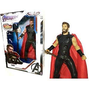 Boneco Articulado 55cm Thor Vingadores Ultimato 0567 Mimo