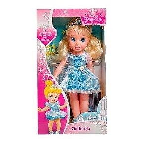 Boneca Minha Primeira Princesa Cinderela 6360 MIMO