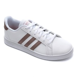 Tenis Adidas Infantil Branco - Grand Court Kids