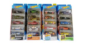 Carrinhos Hot Wheels Veículos Pack Com 5 Mattel - Sortidos