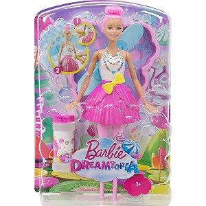 Barbie DreamTopia Fada Bolhas Mágicas DVM95 Mattel