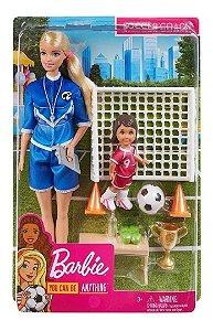 Barbie Técnica De Futebol GLM47 Mattel