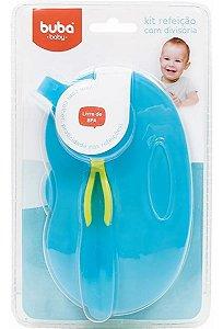 Pote Infantil Buba Baby Menino Pratinho Cor Azul Divisória