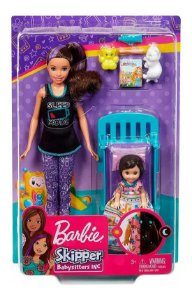 Barbie Mattel Family Babysitter Playset Quarto - Ghv88