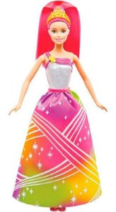 Barbie - Dreamtopia Princesa Luzes Arco-íris - Mattel