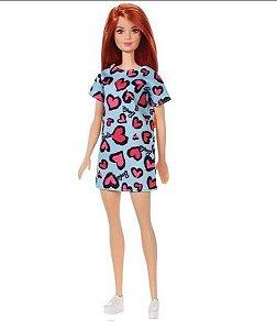 Boneca Barbie Fashion Com Vestido Mattel- sortidas