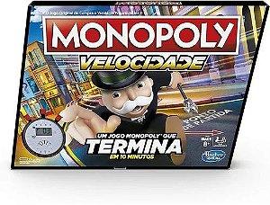 Jogo Monopoly Velocidade - E7033 - Hasbro