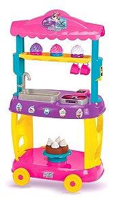 Food Truck Doces Cozinha Infantil C/Acessórios Magic Toys