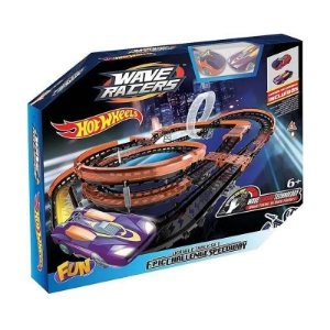 Hot Wheels Pista e 2 Carrinhos Wave Racers Epic Challenge