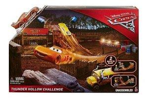 Pista De Percurso Carros 3 - Desafio Thunder Hollow - Mattel