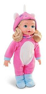 Boneca Lari End Me Collection - Unicórnio Rosa - Roma Toys