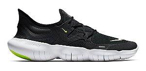 Tênis Nike Free Run 5.0 Feminino - Preto E Branco