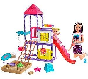 Barbie Skipper Babysitters Dia No Parque - Mattel GHV89
