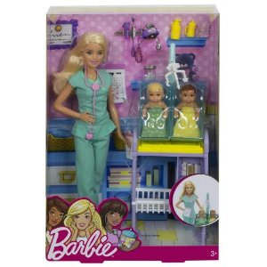 Boneca Barbie Pediatra DHB63 Mattel