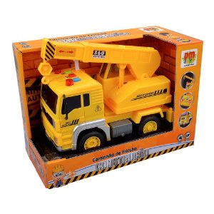 Carro Fricção Construção Sortido DMT5697 Dm Toys