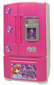 Brinquedo Geladeira Inverse Água Na Porta - Magic Toys 8053p