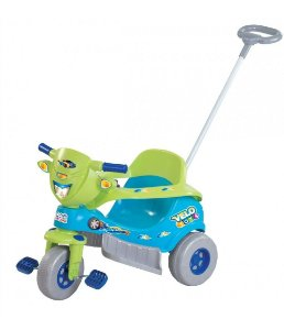 Triciclo Tico Tico Velo Toys Azul C/ Som Magic Toys 3720c