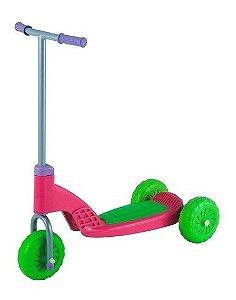 Patinete Vapt Vupt Rosa Menina 3 Rodas Magic Toys 4511L