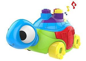 Tartaruga Didática 41 Cm Com Som 1085 - Magic Toys