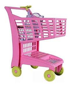 Carrinho Supermercado Infantil Market Rosa Magic Toys 871