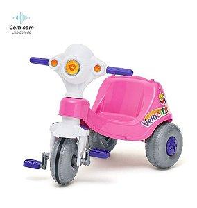 Triciclo Infantil Velocita Passeio E Pedal Calesita 0954