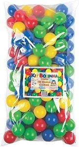 Saco c/ 100 Bolinhas Coloridas 420-7 Braskit