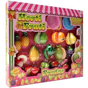 Kit Horti Fruti Frutas c/ Velcro 860-0 Braskit