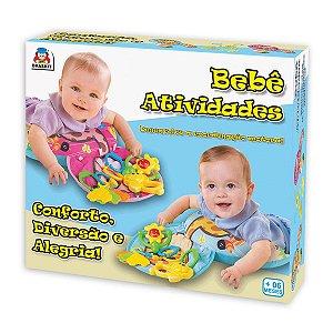 Almofada De Atividades Para Bebê Azul 2006-6 Braskit