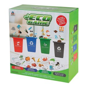 Jogo Eco Game Reciclar 1002 Braskit