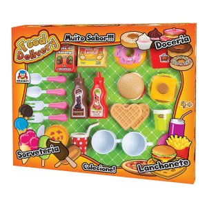 Kit Food Delivery Lanchonete c/ Velcro 860-7 Braskit