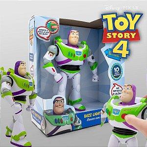 Boneco Buzz Lightyear Infantil 10 Frases 38169 Toyng