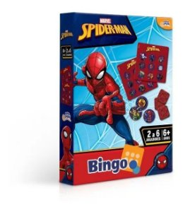 Jogo Marvel Bingo Homem Aranha 8017 Toyster