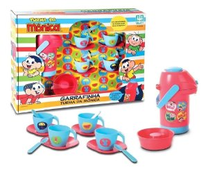 Kit Cozinha Infantil Jogo De Chá Turma Da Mônica 0757 Nig