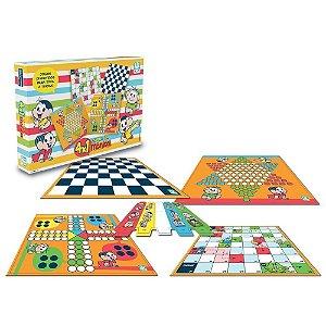 Jogo 4x1 Turma da Mônica Jogos Clássicos 0761 Nig