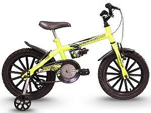 Bicicleta Dino Neon Infantil Aro 16 Track