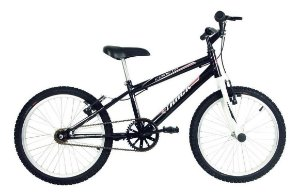 Bicicleta Aro 20 Cometa Preta/branca Track
