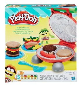 Massa Play Doh Kitchen Creations Festa Dos Hamburguers B5521