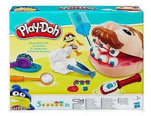 Massa Play-doh Brincando De Dentista B5520 Hasbro