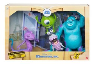 Kit Bonecos Disney Pixar Monstros Sa GMD17 Mattel