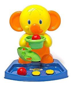 Brinquedo Basquete Inf Bebê Elefante 2126 Cotiplás