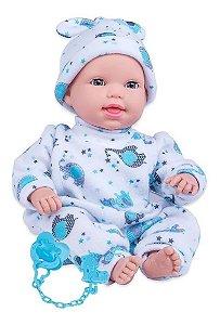 Boneco Miyo Menino Com Sons De Bebê Cotiplas