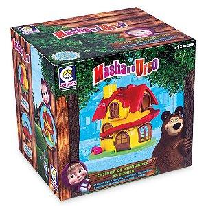 Brinquedo Casa Da Masha E O Urso Atividade Didática Cotiplás