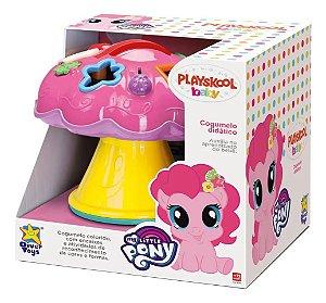 Brinquedo Didático Cogumelo Playskool Little Poney C/Alça