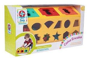 Brinquedo Caixa Encaixa - Estrela