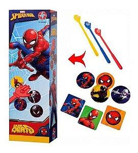 Jogo Tapa Certo Spiderman Spider Man Homem Aranha - Estrela