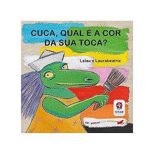 Livro Cuca, qual é a cor da sua toca? Estrela Cultural