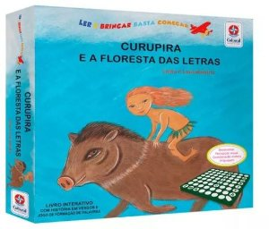 Livro Curupira E A Floresta Das Letras Estrela Cultural